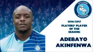 Players' Player of the Year 2016/2017: Adebayo Akinfenwa