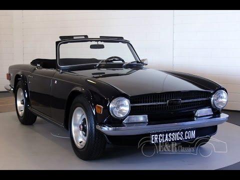 Triumph Tr6 Pi 1970 150 Hp European Version Midnight Blue Top