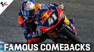 Famous comebacks: Brad Binder at Jerez 2016