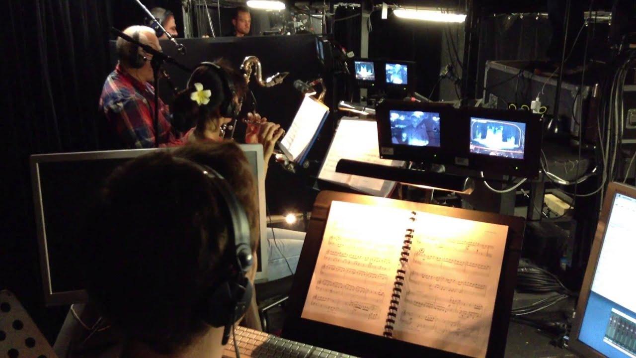 La Belle et la Bête - Dans la fosse orchestre du théâtre Mogador