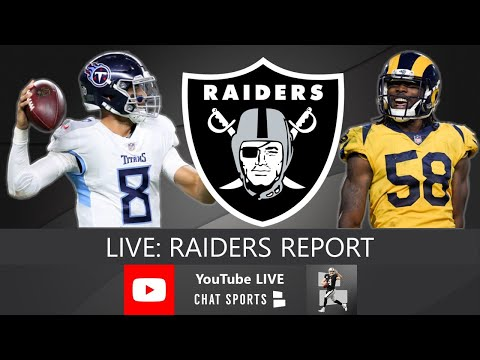 Raiders Report LIVE With Mitchell Renz (3/20/20)