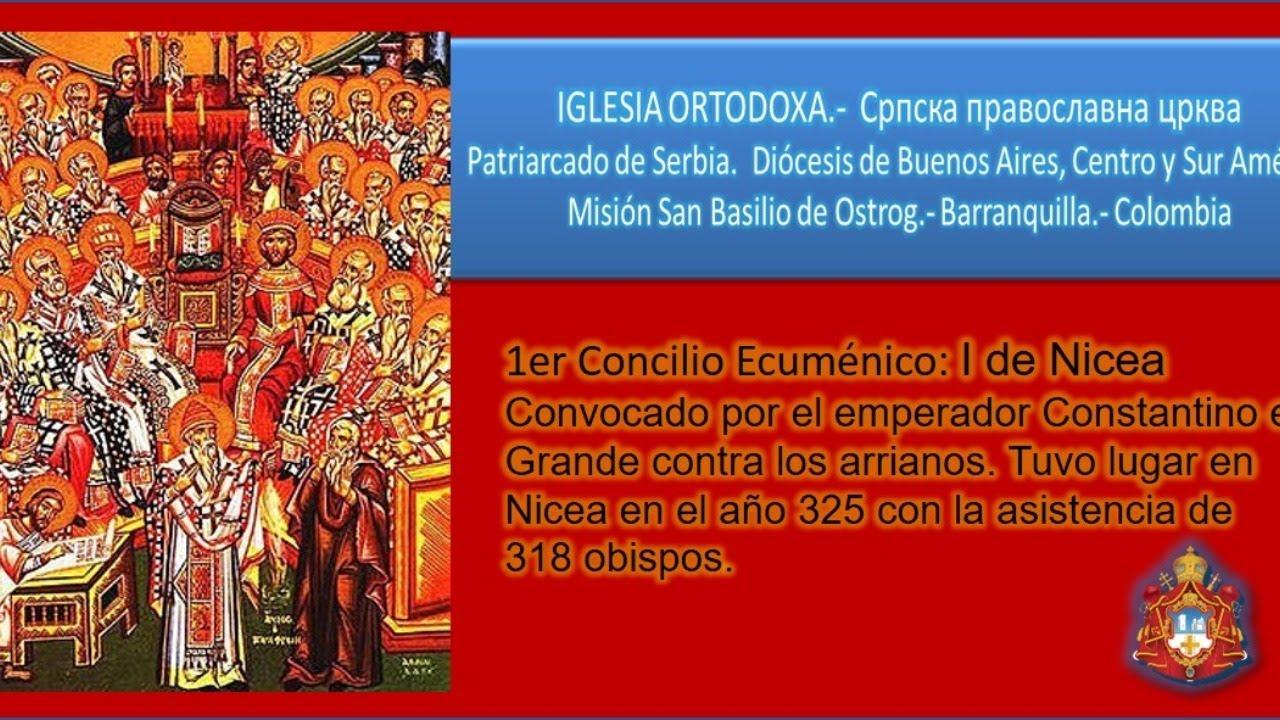 Clase 1: Los Siete Concilios Ecuménicos.- Concilio de Nicea