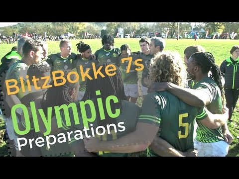 BlitzBokke 7s Gear Up for Rio 2016