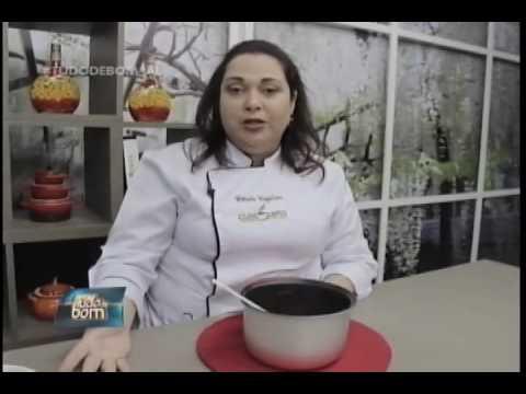 Culinária: Travessa de sonho de valsa