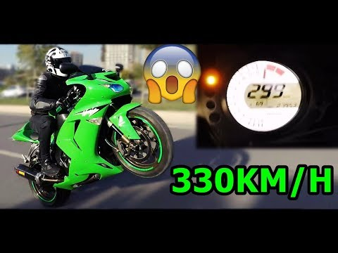 330 KM/HIZ YAPTIM - KAWASAKİ - ZX10R - MotoVlog#87