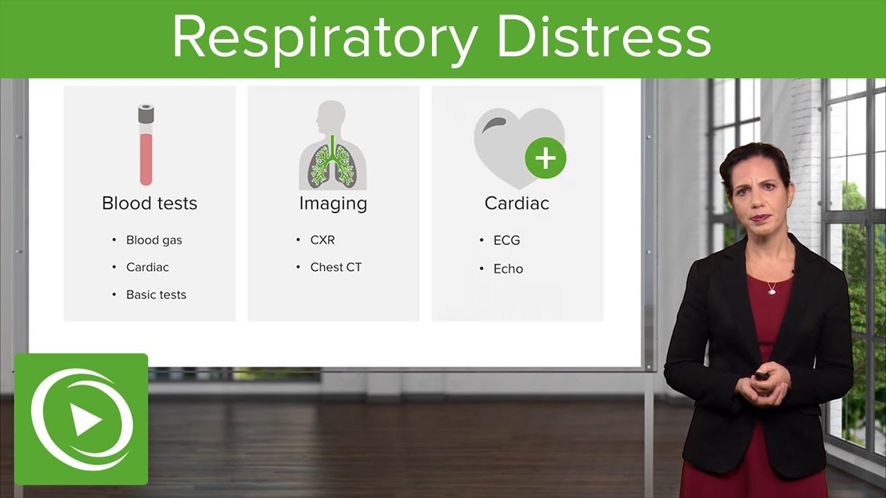 Respiratory Distress: ABC Assessment , Diagnosis & Examination – Emergency Medicine | Lecturio
