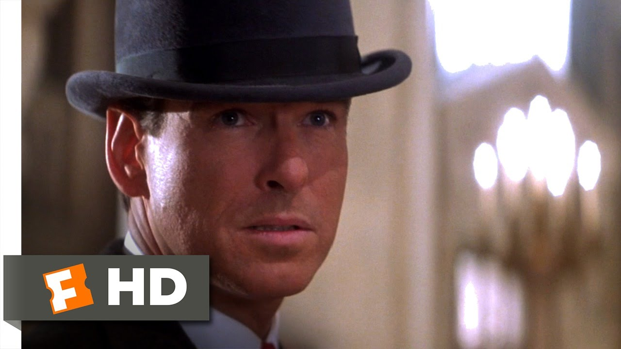 The Thomas Crown Affair (1999) - Bowler Hat Guy Scene (7/9 ...