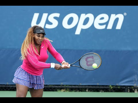 Serena Williams Practice Session | 2020 US Open
