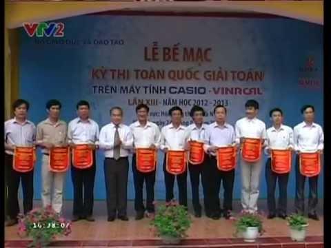 Kì thi quốc gia giải toán trên máy tính Casio 2013