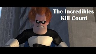 The Incredibles Kill Count