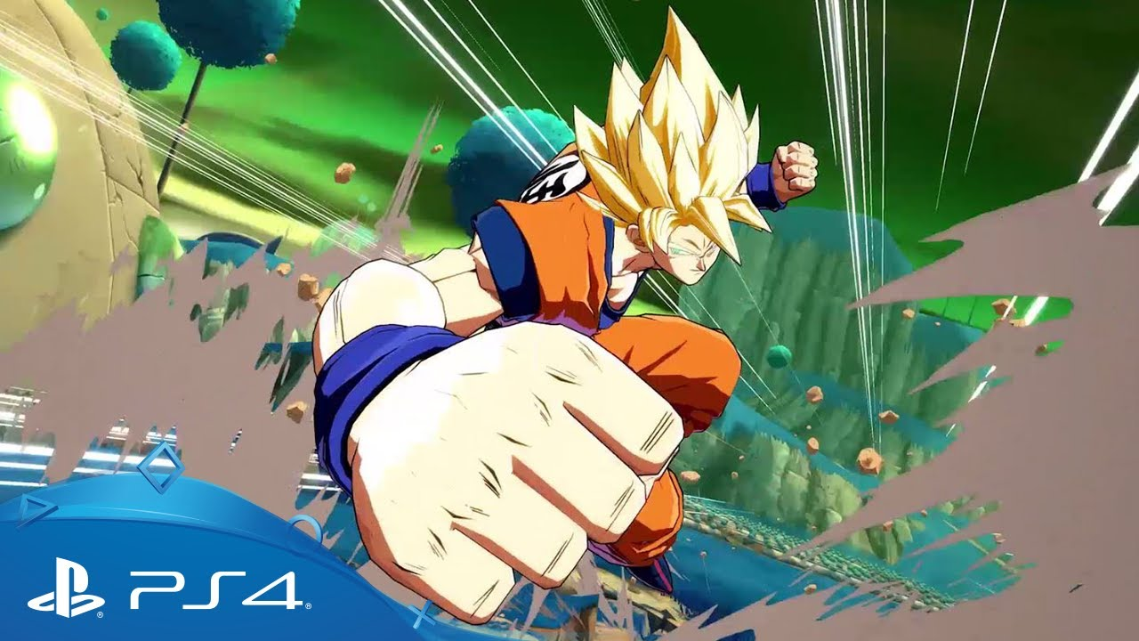 Dragon Ball Fighter Z Gameplay Trailer Ps4