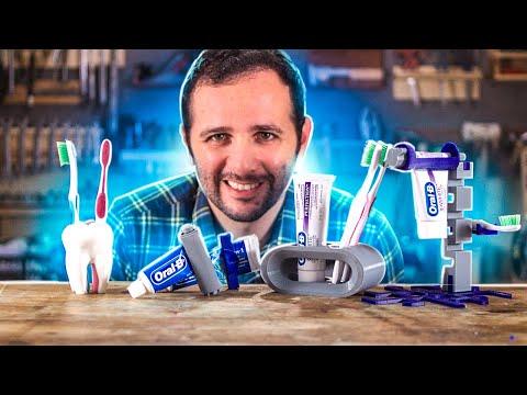 9 Invenções muito loucas para escovar os dentes