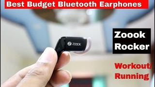 Zoook rocker soulmate Review Best budget bluetooth earphones 2017