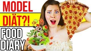 Meine MODEL DIÄT?! WAS ICH WIRKLICH ESSE... FOOD DIARY | MEINE ERNÄHRUNG | Deutsch 2016 | Kim Lianne