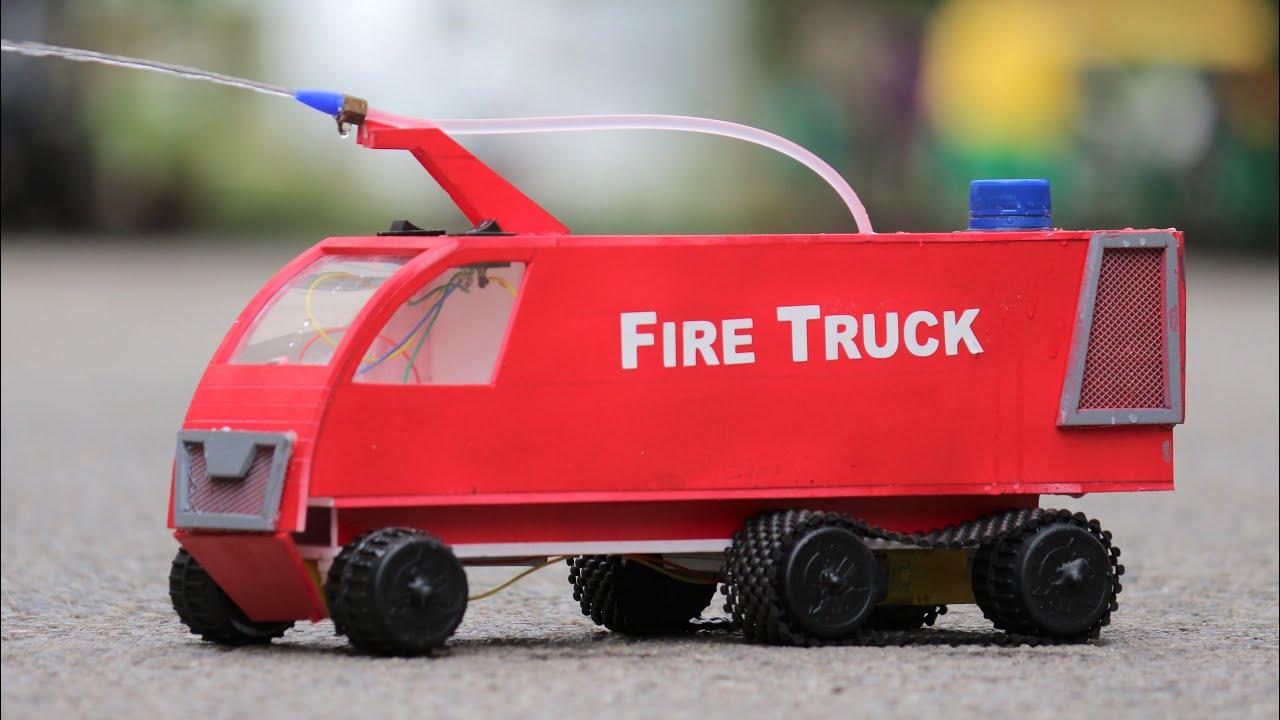 How to make a Truck - Fire Truck - Fire Car