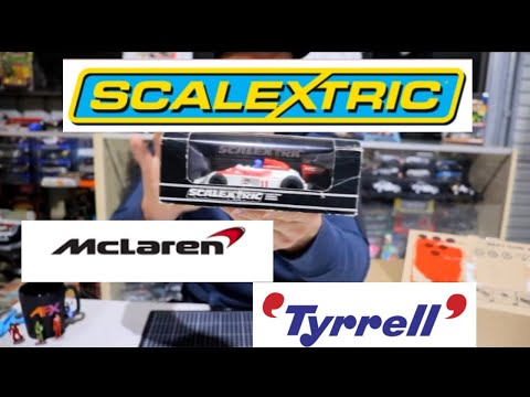scalextric vintage slot cars F1 UNBOXING