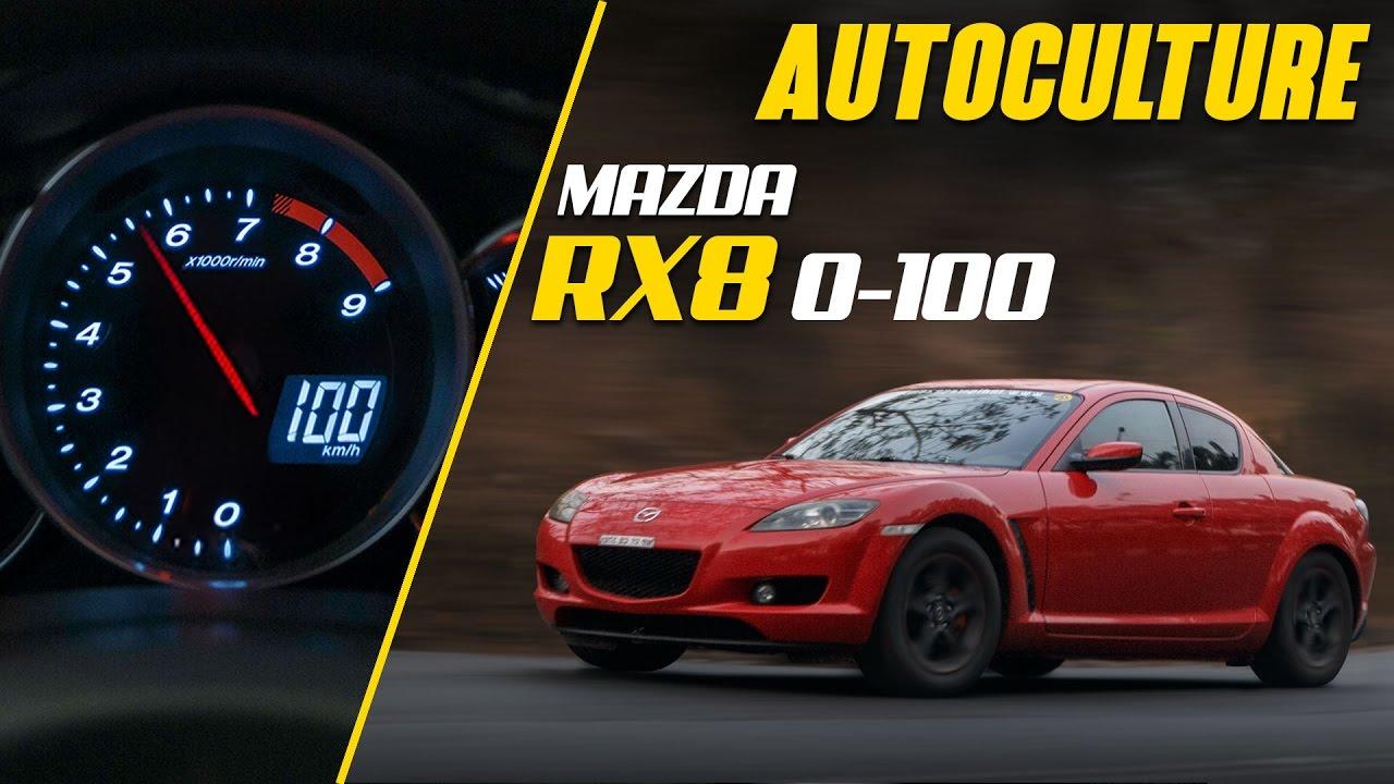 Mazda rx8 0-100