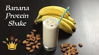 Let's start the day with a rocking banana protein shake. i like to have it as pre or post workout drink meal replacement. go into recipe ...