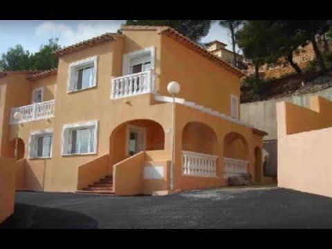 Vente maison  vendre Calpe Espagne Maisons Villas en vente  Immobilier Costa Blanca  YouTube