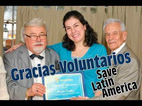 Annual Volunteer Gratitude Event- Save Latin America- New Jersey. Part 1