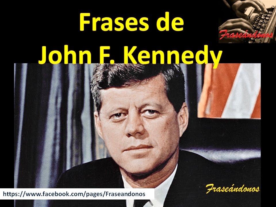 Frases De John F Kennedy