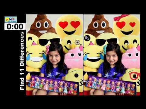 PHOTO HUNT #2. Bet You Can't Spot The Differences Mr Potato Head, Emoji & Chicago Navy Pier Puzzles!