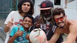 Futebol Raiz - Adulto Vs Criança - Equipe Pipa Combate