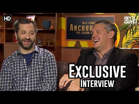 Judd Apatow & Adam McKay  Anchorman 2: The Legend Continues Exclusive