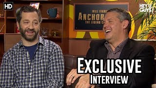 Judd Apatow & Adam McKay - Anchorman 2: The Legend Continues Exclusive Interview