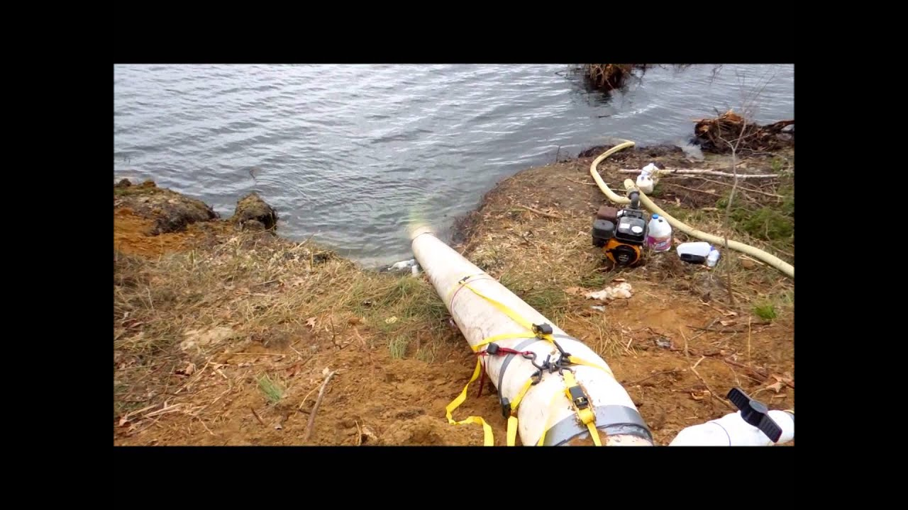 how to get dams to siphon