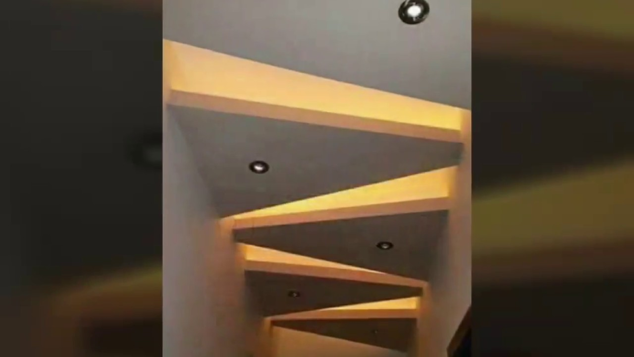 Pop Ceiling Lobby Passage Designcontact Me To Do Any Design   Ceiling Design For Stairs Area   Wall Light   Reception   Internal Staircase Wall   Interior   Show Room