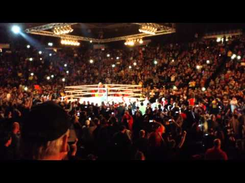 Hulk Hogan WWE Live Cincinnati Entrance