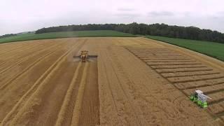 WHEAT PLOT HARVEST TK FARMS