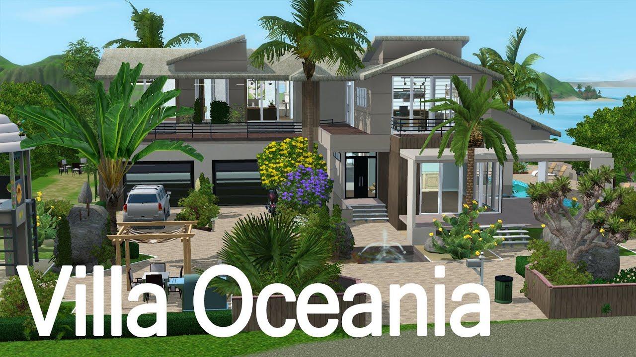 Sims 3 - Villa Oceania ' Build House Season 2