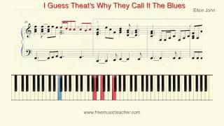 "How To Play Piano: Elton John ""I Guess That"