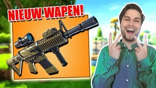 NIEUW WAPEN THERMAL AR IS ZOOO STERK! - Fortnite Battle Royale (Nederlands)