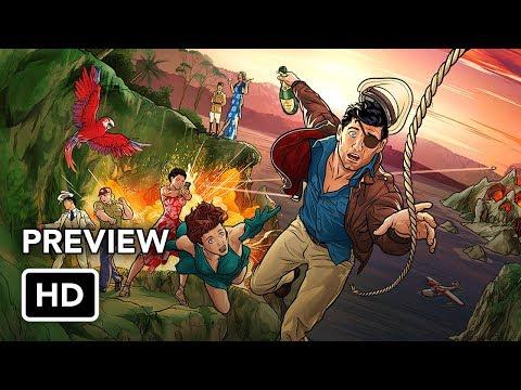 Archer Season 9 First Look Preview (HD) Archer: Danger Island