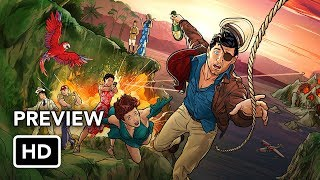 Archer Season 9 First Look Preview (HD) Archer: Danger Island