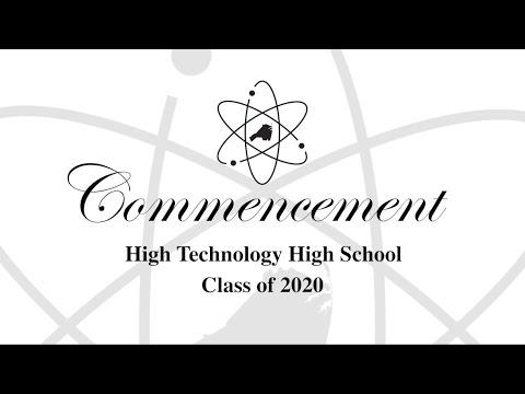 Commencement - High Technology High School - Class of 2020
