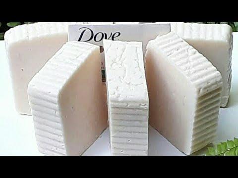 Faça sabonete Dove com  4 ingredientes caseiro  fácil de fazer.
