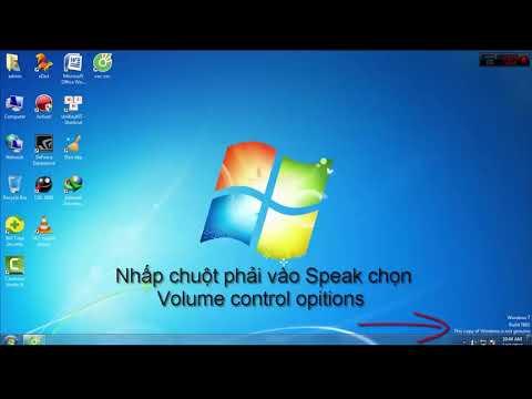 Máy tính mất âm thanh loa ngoài Cách Khắc Phục