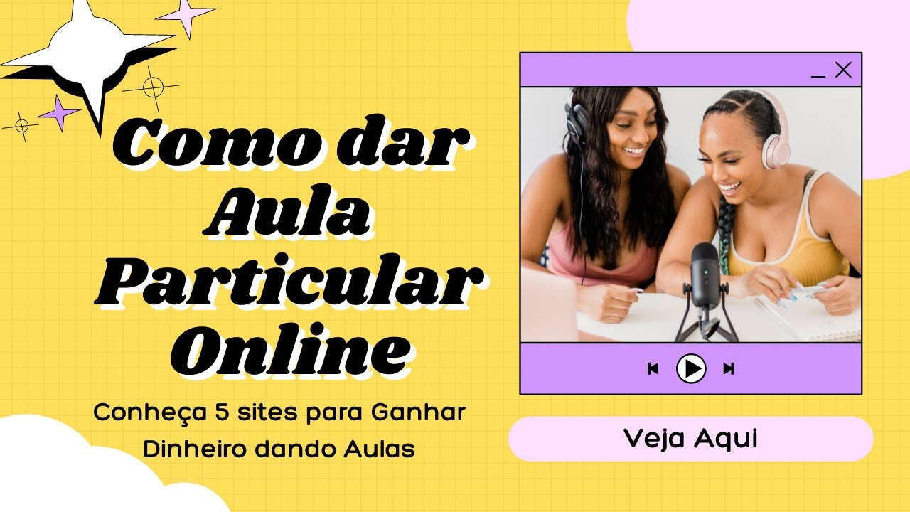 Download Como dar Aula Particular Online e GANHAR DINHEIRO