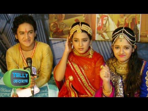 Faisal Khan a.k.a. Pratap And Roshni Walia a.k.a. Ajabde Excited Before Wedding In Maharana Pratap