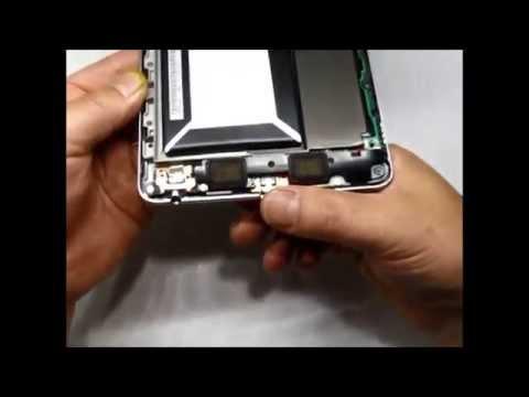 【2012年モデル】Nexus7 の充電不良・USBコネクター交換修理方法