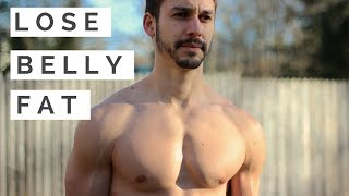 3 Ways to Lose Belly Fat Without Exercise | Alexander Heyne