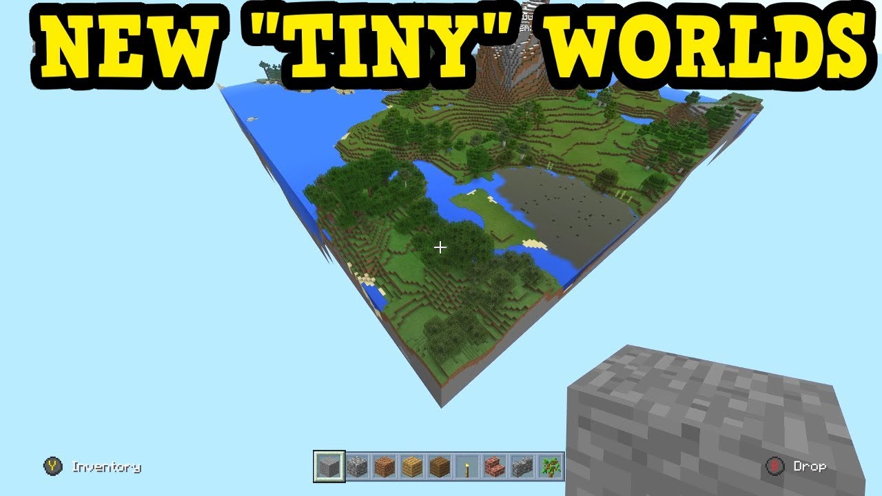Minecraft Xbox - The SMALLEST World Size That Has EVER Existed