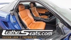 1991 Acura NSX Custom Leather Interior Upholstery Upgrade Package / Kit - LeatherSeats.com