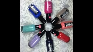 wet n wild fast dry nail polish haul live swatches