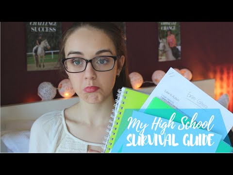 High School Survival Guide ♡ Exams, Study Methods, Motivation & Apps