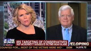 Megyn Kelly Schools Jim McDermott on Targeting of Conservative groups by IRS.